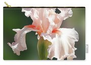Peach Bearded Iris 2 Carry-all Pouch