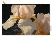 Peach Bearded Iris Carry-all Pouch