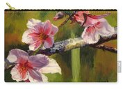 Peach Blossom Time Carry-all Pouch