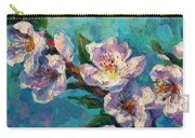 Peach Blossoms Flowers Painting Carry-all Pouch