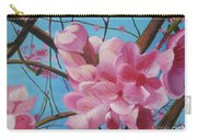 Peach Blossoms Carry-all Pouch
