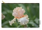 Peach Color Iris Carry-all Pouch