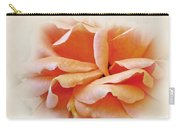 Peach Delight Carry-all Pouch by Kaye Menner