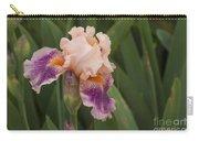 Peach Iris Carry-all Pouch
