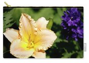Peach Lily Carry-all Pouch