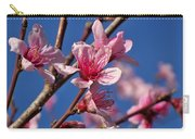 Peach Tree Blossoms Carry-all Pouch