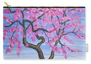 Peach Tree, Painting Carry-all Pouch