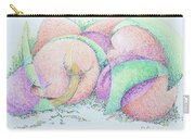 Peaches And Plums Carry-all Pouch