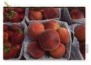 Peaches And Strawberries Carry-all Pouch