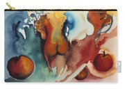 Peaches Carry-all Pouch by Laura Joan Levine