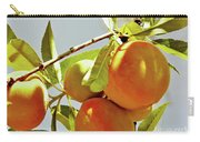 Peaches On The Tree Carry-all Pouch