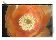 Peachy Opuntia Flower Carry-all Pouch