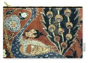 Peacock Among Flowers Carry-all Pouch