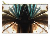Peacock Art In Abstract Carry-all Pouch