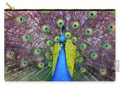 Peacock Art Carry-all Pouch