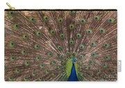 Peacock At The Fort Carry-all Pouch