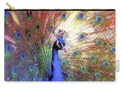 Peacock Beauty Colorful Art Carry-all Pouch
