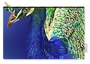 Peacock Blued Carry-all Pouch