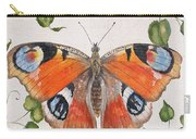 Peacock Butterfly-jp3878 Carry-all Pouch