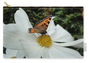 Peacock Butterfly On Cosmos Carry-all Pouch