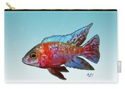 Peacock Cichlid Carry-all Pouch