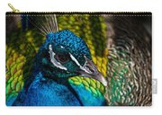 Peacock Closeup Carry-all Pouch