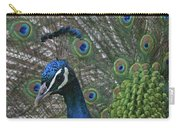 Peacock Enhanced Carry-all Pouch