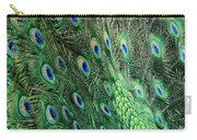 Peacock Feather Pattern Carry-all Pouch