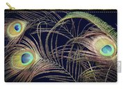 Peacock Feathers -1 Carry-all Pouch