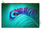 Peacock Feathers 5 Carry-all Pouch