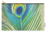 Peacock Feathers-jp3609 Carry-all Pouch