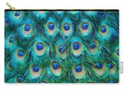 Peacock Feathers Carry-all Pouch by Nikki Marie Smith