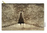 Peacock Grunge Carry-all Pouch