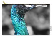 Peacock Luminance Carry-all Pouch
