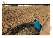 Peacock On The Farm Carry-all Pouch