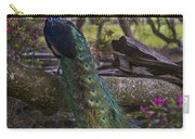 Peacock On The Plantation Carry-all Pouch