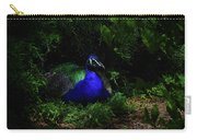 Peacock Peafowl Carry-all Pouch