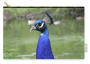 Peacock Portrait #3 Carry-all Pouch