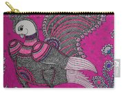 Peacock_pink Carry-all Pouch