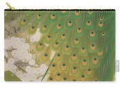 Peacocks And Cherry Tree Carry-all Pouch