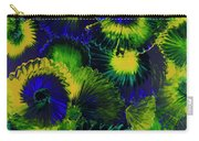 Peacocks On The Run Carry-all Pouch