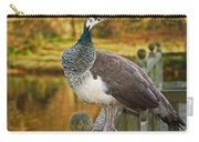 Peahen In Autumn Carry-all Pouch