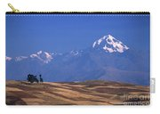 Peaks And Fields Near Cusco Peru Carry-all Pouch
