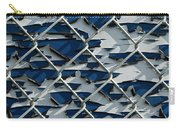 Pealing Paint Fence Abstract 1 Carry-all Pouch
