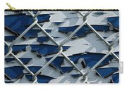 Pealing Paint Fence Abstract 3 Carry-all Pouch