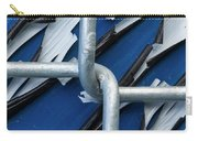 Pealing Paint Fence Abstract 5 Carry-all Pouch