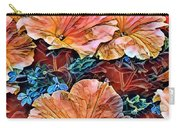 Peanies Flower Blossom Carry-all Pouch