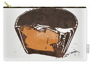 Peanut Butter Cup Carry-all Pouch by Linda Woods