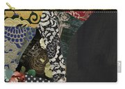 Pear Brocade I Carry-all Pouch