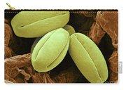 Pear Pollen Grains, Sem Carry-all Pouch